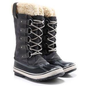 ❤️NWT⭐️Sorel winter boots in dark grey and black